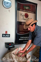 Scales for weighing sacks of dried coffee beans ready for roasting coffee at the Hacienda San Alberto. (Buenavista, Quindio). A sophisticated consumer knows that coffee should be consumed freshly prepared. Thus, the drink retains many volatile aromas that tend to get lost in a short time. It is for this reason that the coffee tastes best when freshly prepared. Take it as soon as possible, the coffee deteriorates when stored for more than an hour and should never be reheated or cooked. Maintain the freshness of coffee prepared is a function both of temperature and the conditions in which has the coffee after infusion. Maintain uniform temperature between 80 ° C to 85 ° C in a sealed container without the application of direct heat, keeps a pleasant tasting drink. Although the temperature used is a matter of taste, it is advisable to provide the beverage in the temperature range for hot drinks average of 70 ° C to 80 ° C, so that it is really pleasant. On the issue of conservation, it is important to also consider the conservation of roasted coffee beverage is prepared. Roasted coffee is perishable because air, moisture, heat, oxidizes over time and also absorbs odors. It is therefore a delicate product. To preserve its quality is important to remember: Buy your coffee in a facility that handles proper product rotation. Keep the product tightly closed, avoiding contact with air. After opening the package, it is important to consume in the next few days. This will achieve the original taste. It is better to keep roasted coffee, not ground. Buy quantities consumed quickly. Do not store for long periods of time roasted and / or ground. It is important to note that coffee roasted and packaged in bags normally be considered fresh, when ground, up to a month, and beans for two months, depending of course on the conditions where it is stored. Places with high humidity and high temperature affect negatively the quality and strong. Also key is the quality of packaging. When using high-barrier packaging, with relief valve modified atmosphere can protect flavor and freshness for longer periods. The industrial process can also affect the freshness. Overall a vacuum-packed coffee could have a lifespan of about 18 months. A freeze-dried coffee with similar packaging conditions could have a life even more. In short, always keep in mind that once you opened the package, it is important to store coffee in airtight containers in a cool, dry place. If using roasted coffee beans, grind only the amount you take
