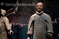 Admission to the exhibition of the Warriors in Xi'an. The figures are sculpted in clay to a size of between 1'76 and 1.82 meters, one to one modeled probably the image of the army at that time served the Emperor Qin Shi Huang. All the statues were also painted in bright colors denoting their hairstyles and clothes belonging to different ethnic groups. Years later, in 1980 she made another discovery singular 20m west of the tomb of Qin, a pair of bronze chariots with wheels shot four horses, which faithfully reproduce the gala carriages on display in a small museum located to the right of the main entrance. The Terra Cotta Warriors and Horses are the most significant archeological excavations of the 20th century. Work is ongoing at this site, which is around 1.5 kilometers east of Emperor Qin Shi Huang's Mausoleum in Lintong, Xian, Shaanxi Province. It is a sight not to be missed by any visitor to China.  Upon ascending the throne at the age of 13 (in 246 BC), Qin Shi Huang, later the first Emperor of all China, had begun to work for his mausoleum. It took 11 years to finish. It is speculated that many buried treasures and sacrificial objects had accompanied the emperor in his after life. A group of peasants uncovered some pottery while digging for a well nearby the royal tomb in 1974. It caught the attention of archeologists immediately. They came to Xian in droves to study and to extend the digs. They had established beyond doubt that these artifacts were associated with the Qin Dynasty (211-206 BC).   The State Council authorized to build a museum on site in 1975. When completed, people from far and near came to visit. The Museum of Qin Terra Cotta Warriors and Horses have become landmarks on all visitors' itinerary.  Life size terracotta figures of warriors and horses arranged in battle formations are the star features at the museum. They are replicas of what the imperial guard should look like in those days of pomp and vigor.  The museum covers an area of 16,300 square meters, divided into three sections: No. 1 Pit, No. 2 Pit, and No. 3 Pit respectively. They were tagged in the order of their discoveries. No. 1 Pit is the largest, first opened to the public on China's National Day, 1979. There are columns of soldiers at the front, followed by war chariots at the back.  No. 2 Pit, found in 1976, is 20 meters northeast of No. 1 Pit. It contained over a thousand warriors and 90 chariots of wood. It was unveiled to the public in 1994.Archeologists came upon No. 3 Pit also in 1976, 25 meters northwest of No. 1 Pit. It looked like to be the command center of the armed forces. It went on display in 1989, with 68 warriors, a war chariot and four horses.