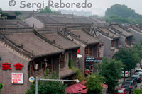 Area near the wall of Xian, where focus range of accommodation for backpackers as Janus's Backpackers and Ancient Street Youth Hostel.